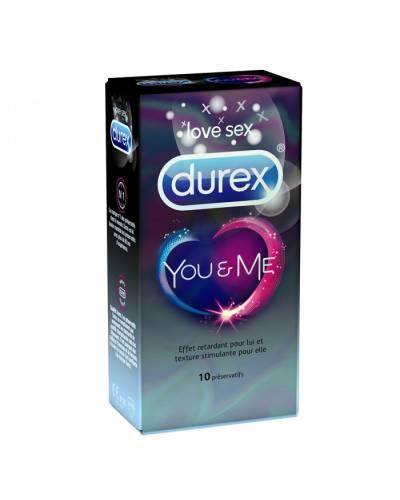Préservatifs You & Me de Durex